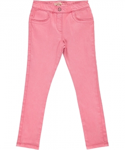 Dajojeg1 Girls Pink Denim Jeggings