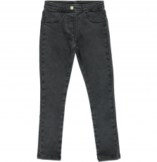 Dajojeg4 Girls Black denim Jeggings