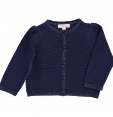 Dijocar4 Baby Girls Navy Cardigan