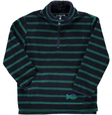Dojopulpo2 Boys Polar Fleece Half Zip Sweatshirt