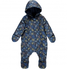 Dublepil Baby Boys Printed Snowsuit