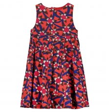 Fabarob2 Girls Printed Cotton dress