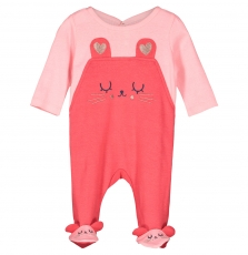 Fefigresou Baby Girls Cotton Sleepsuit