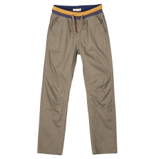 Fobapan2 Boys Taupe Cotton trousers