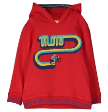 Focoswe Boys Red Hooded Sweatshirt