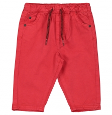 Fujopan1 Baby Boys Red Cotton Trousers