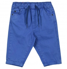 Fujopan2 Baby Boys Blue Cotton Trousers