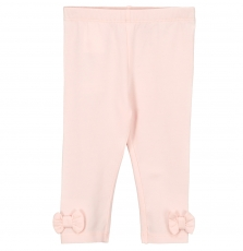 Fyijoleg2 Baby Girls Pale Pink Cotton Leggings