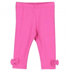 Fyijoleg5 Baby Girls Dark Pink Cotton Legging