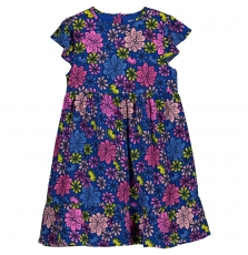 Gablerob1 Girls Printed Viscose Dress