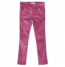 Gabrupant Girls Lilac Velour Trouser