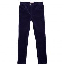 Gajovejeg1 Girls Navy Corduroy Jeggings