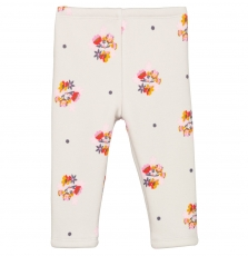 Giblapan2 Baby Girls Printed Fleece Leggings