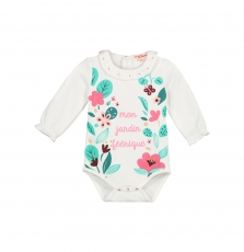 Givebody Baby Girls Printed Bodysuit