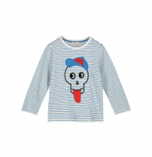 Gobletee1 Boys Appliqued T-shirt