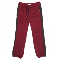Gobrupan1 Boys Rust Cotton Twill Trousers