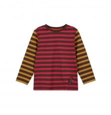 Gobrutee3 Boys Striped Cotton T-shirt