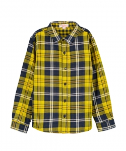Gojauchem Boys Checked Cotton Shirt