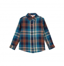 Gotuchem Boys Checked Cotton Shirt