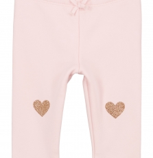 Gijopandou4 Baby Girls Rose Fleece Leggings