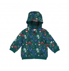 Guvegil Baby Boys Patterned Hooded Top