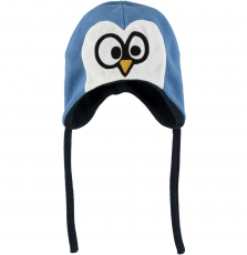 Gyublacha Baby Boys Blue Polar Fleece Hat