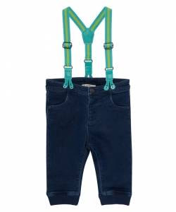 Juclojean Baby Boys Jeans With Braces