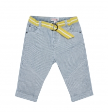 Jutropan1 Baby Boys Belted Cotton trousers