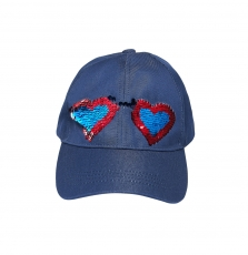 Jyagracap Girls Navy Basketball Cap