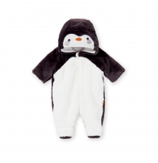 Kou2pil Newborn Faux Fur Snowsuit