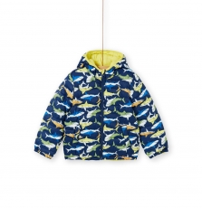 Logroblou2 Boys Reversible Hooded Jacket
