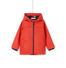 Logroimp1 Boys Red 3 in 1 Hooded Coat