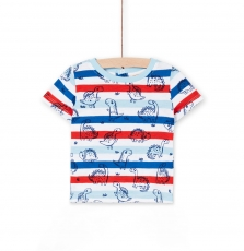 Lucanti Baby Boys Printed Cotton T-shirt