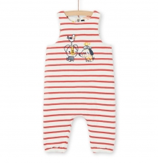 Lunosal Baby Boys Reversible Cotton Dungarees