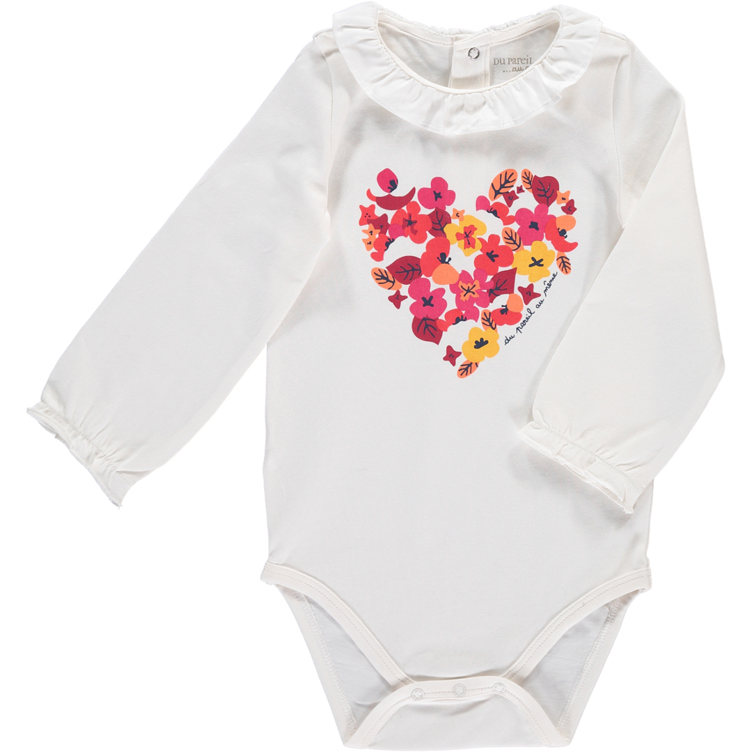 Bbfhabody Baby Girls Cream Bodysuit