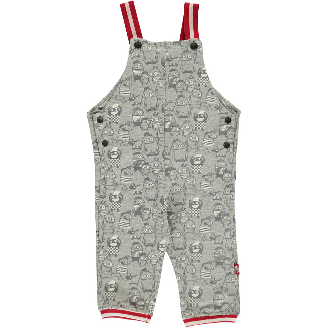 Durousal Baby Boys Printed Dungarees