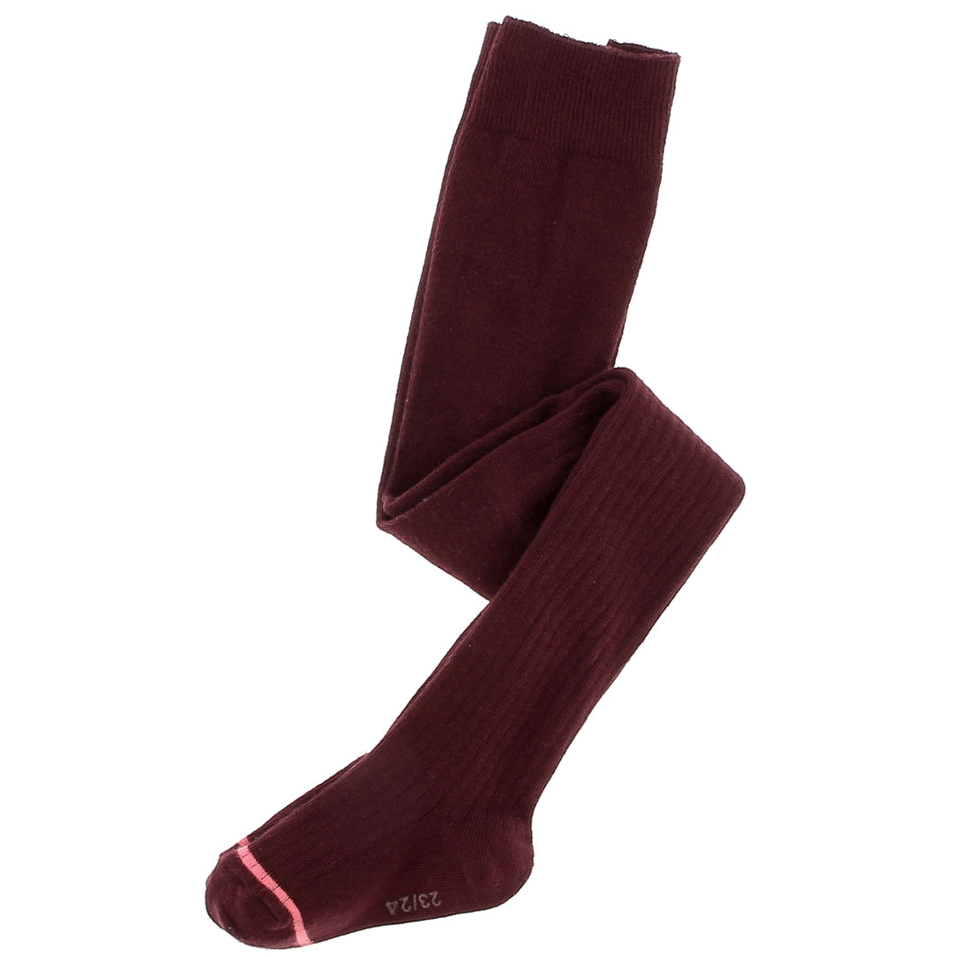 Dyajocol5 Girls Wine Cotton Tights