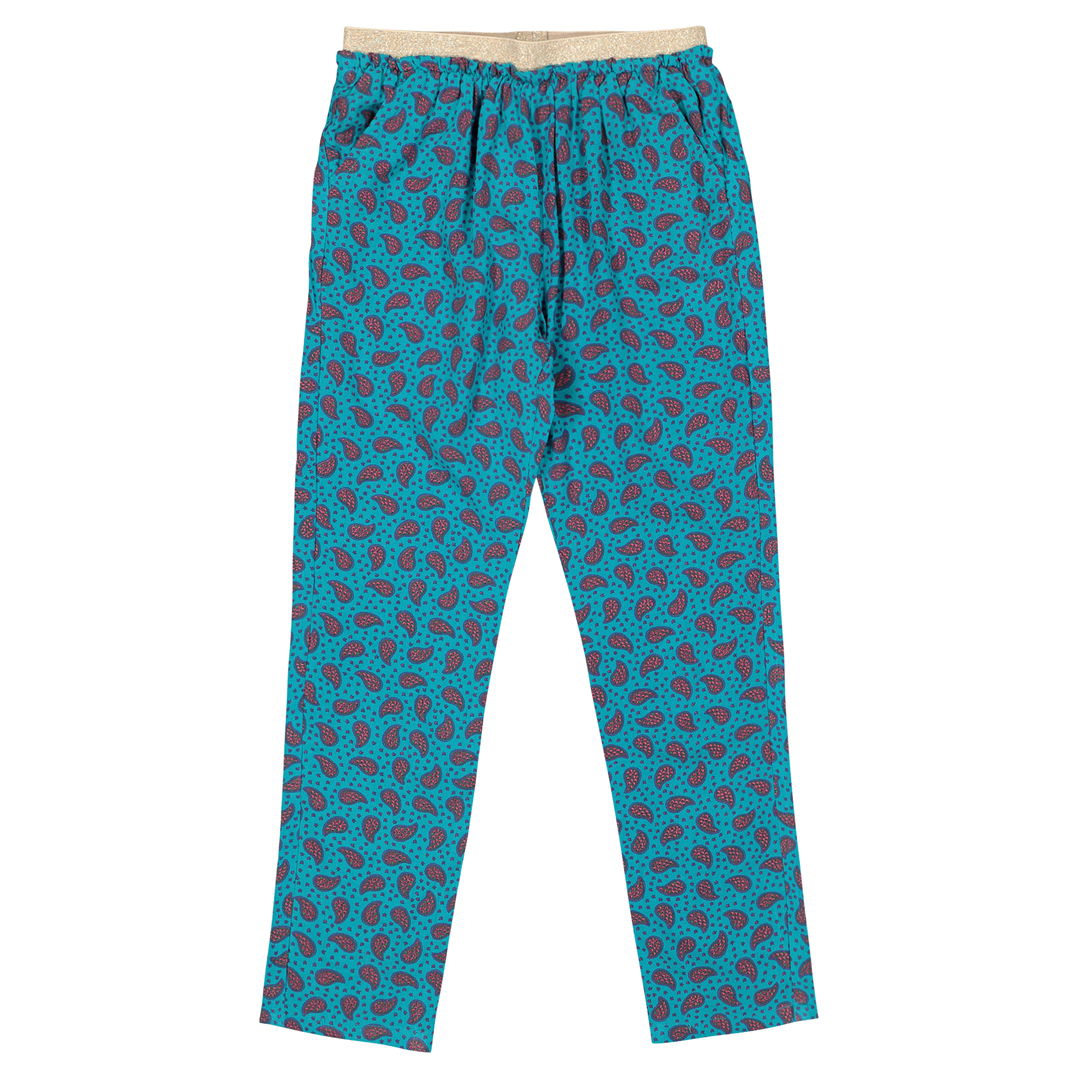 Facapant Girls printed Viscose Trousers