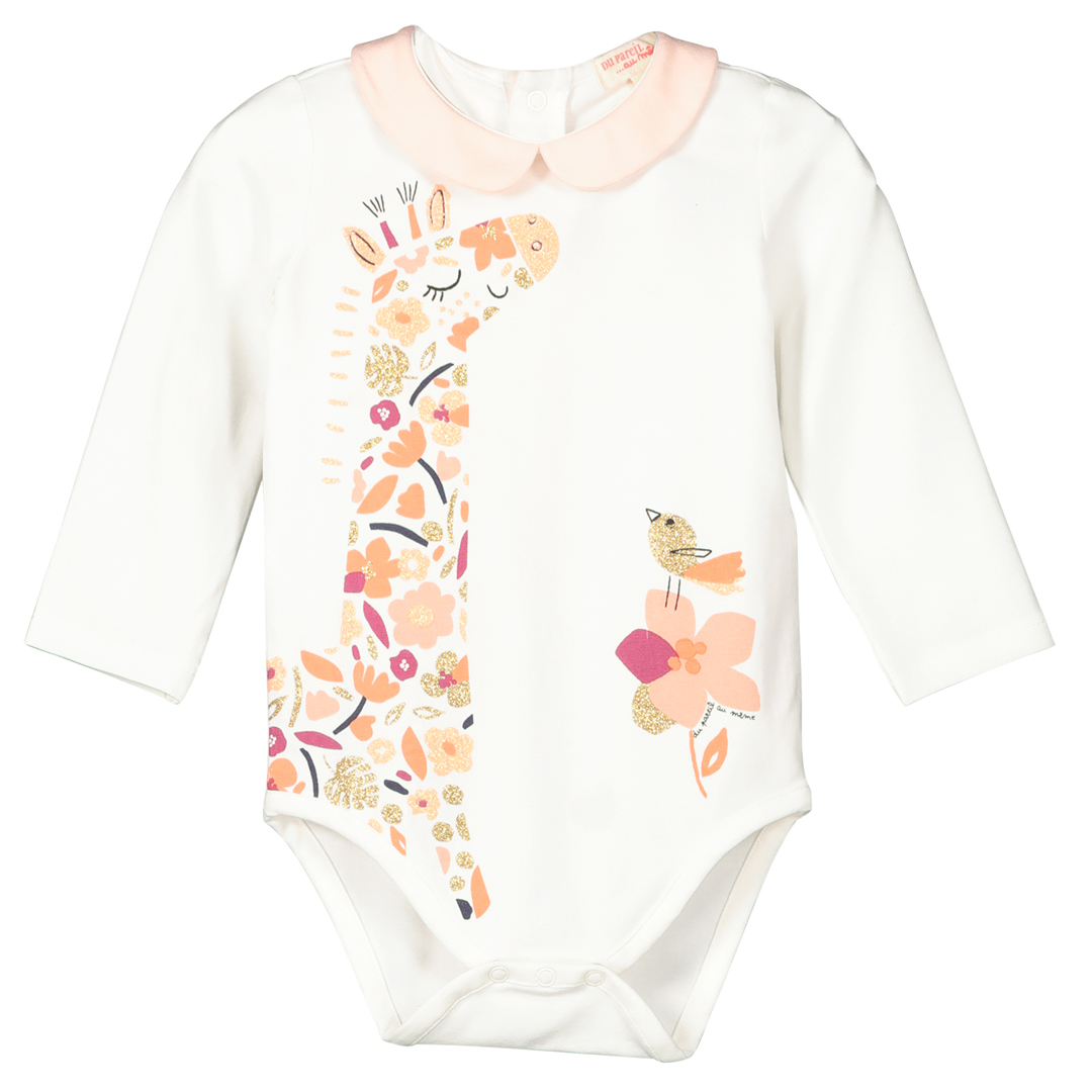 Fibabod Baby Girls Printed Cotton Vest