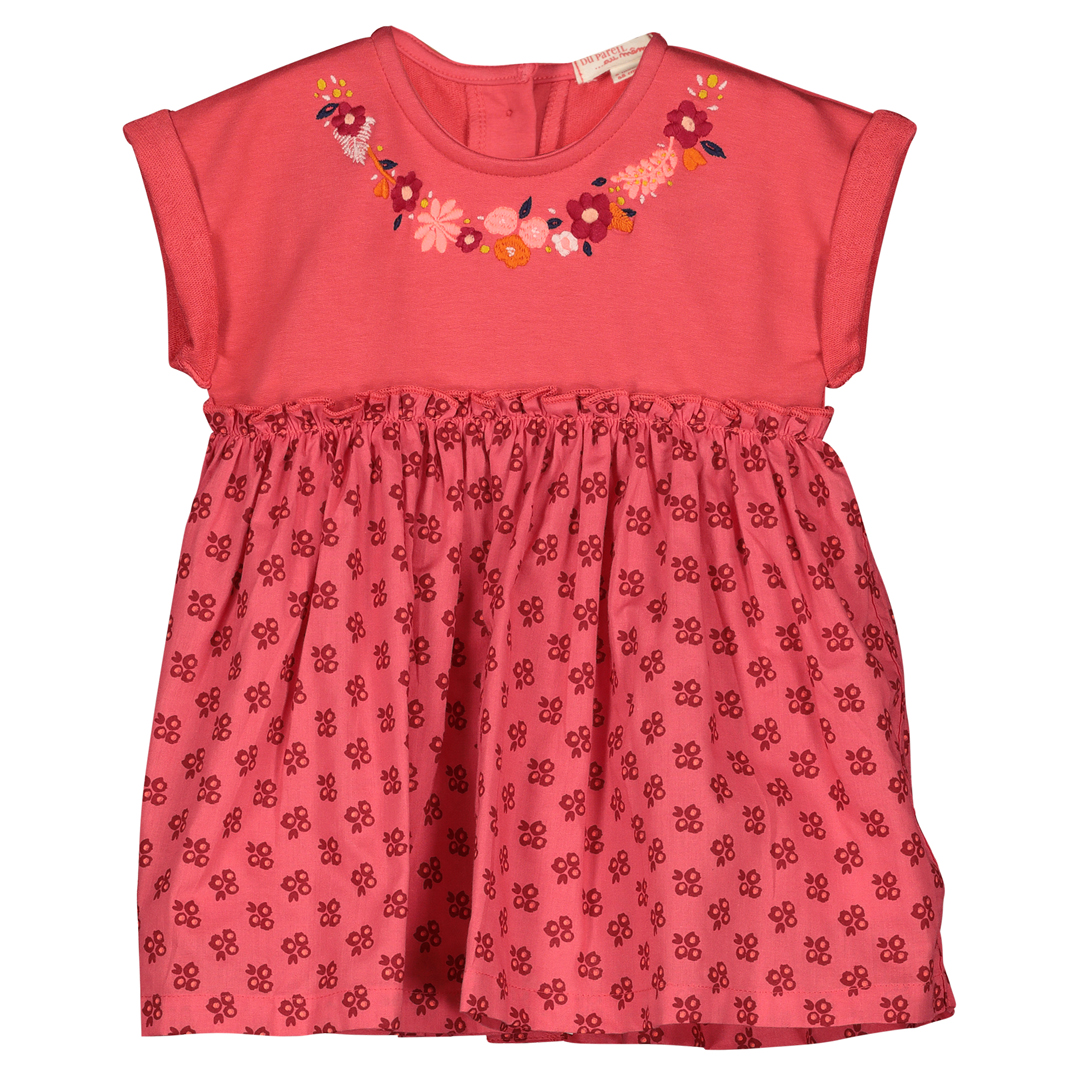 Fibarob1 Baby Girls Embroidered Cotton Dress