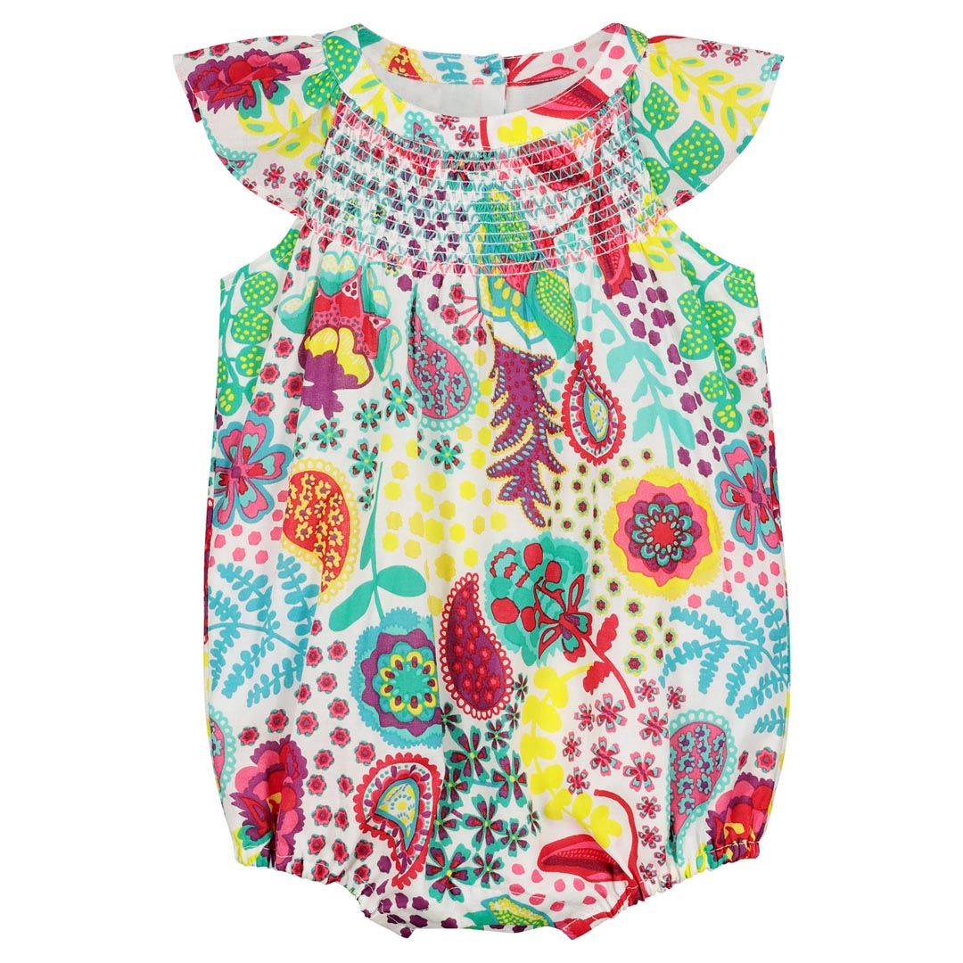 Ficabar Baby girls Printed All In One