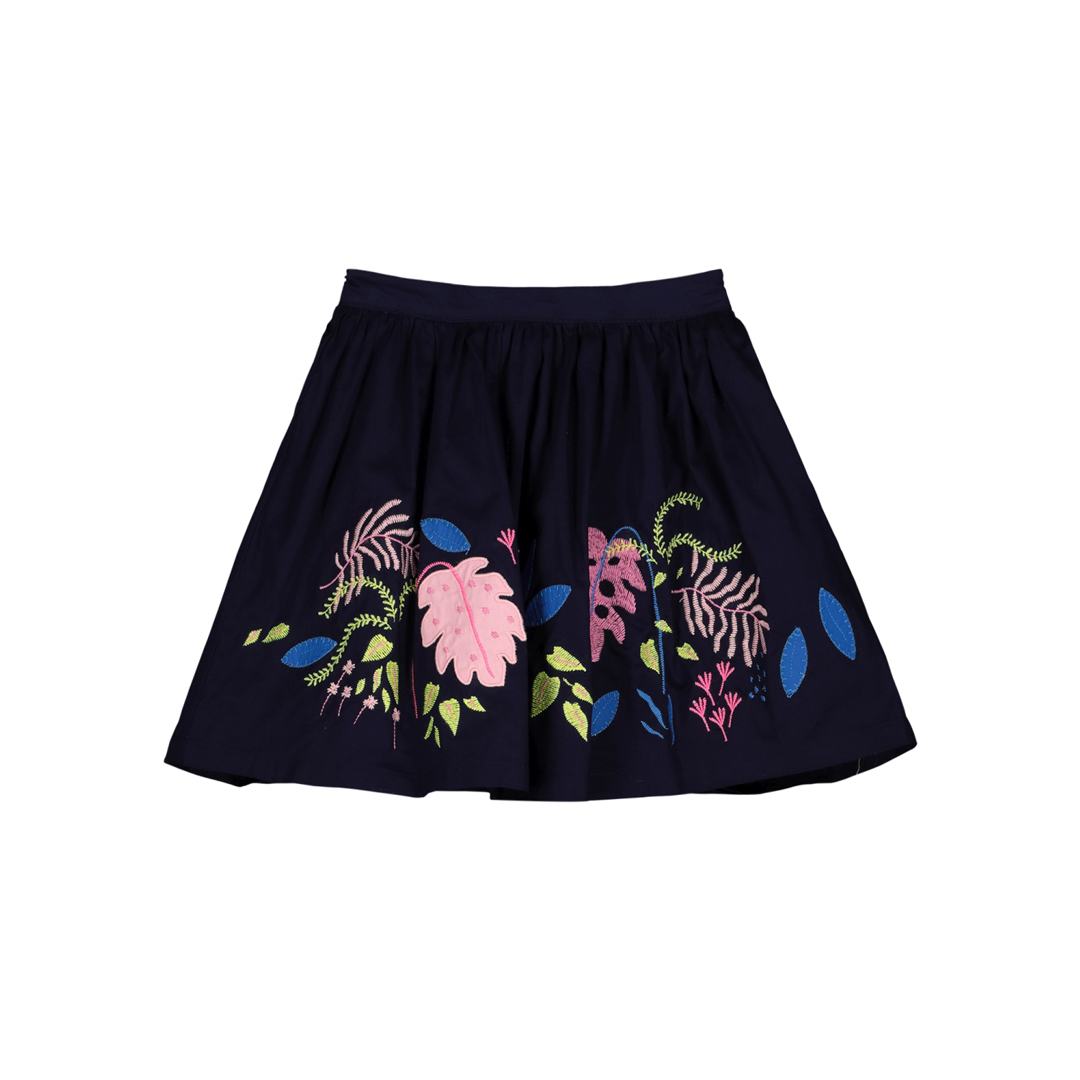 Gablejup Grls Printed Cotton Skirt