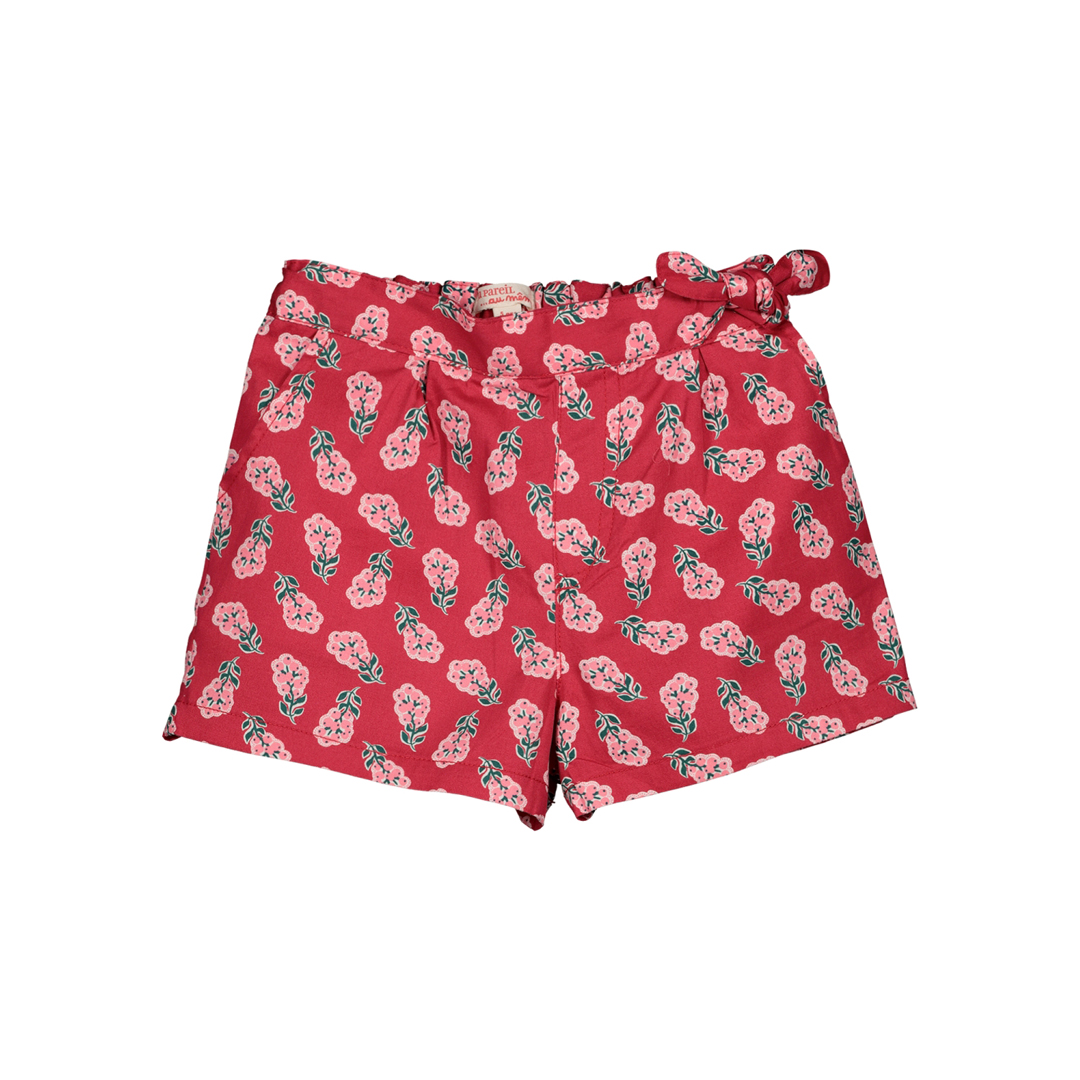 Gaveshort Girls Printed Cotton Shorts
