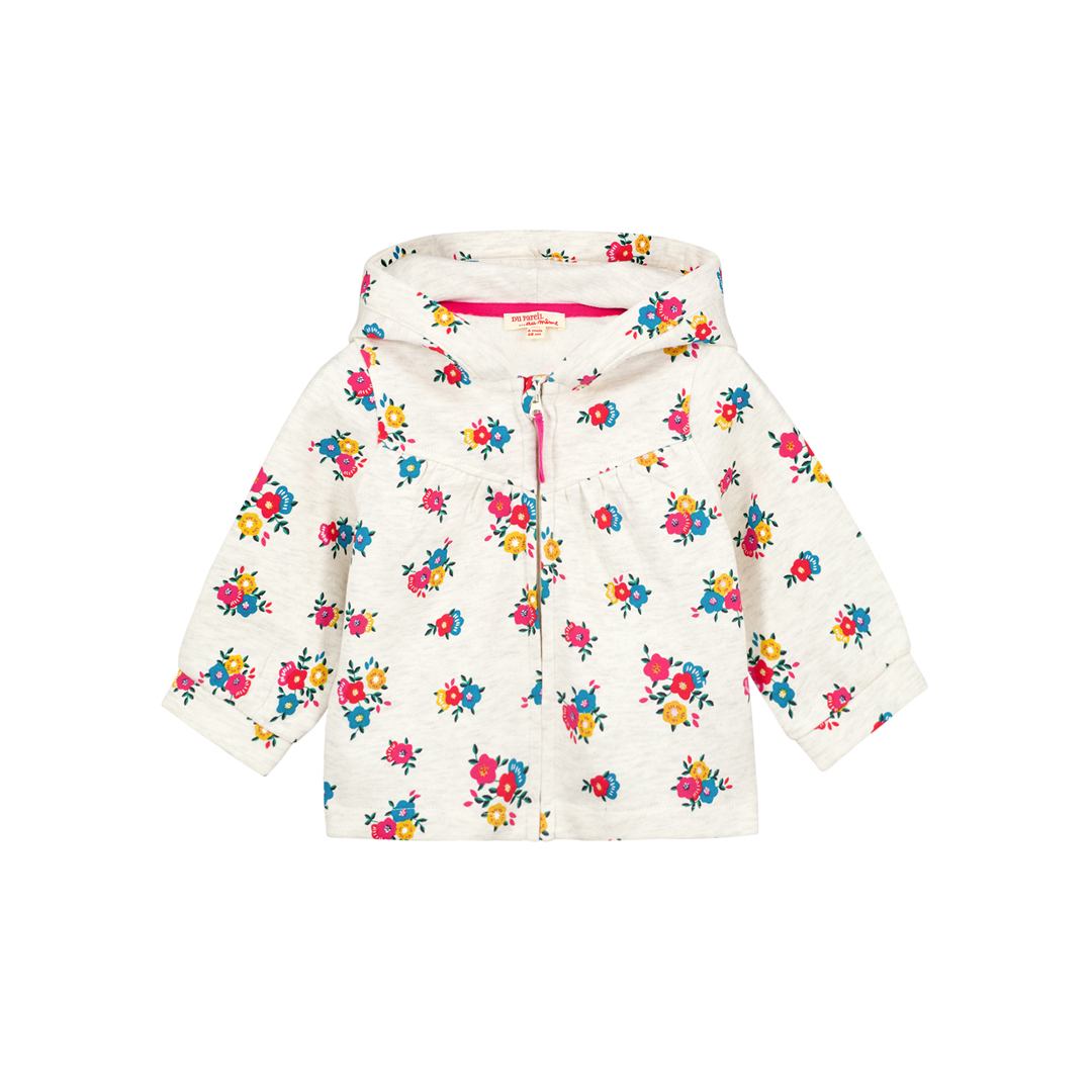 Gimuhojog Baby Girls Printed Cotton Tracksuit Top