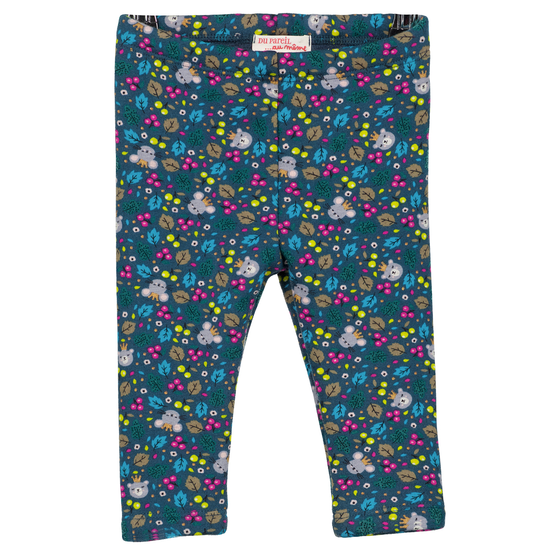 Gitupan Baby Girls Printed Fleece Leggings