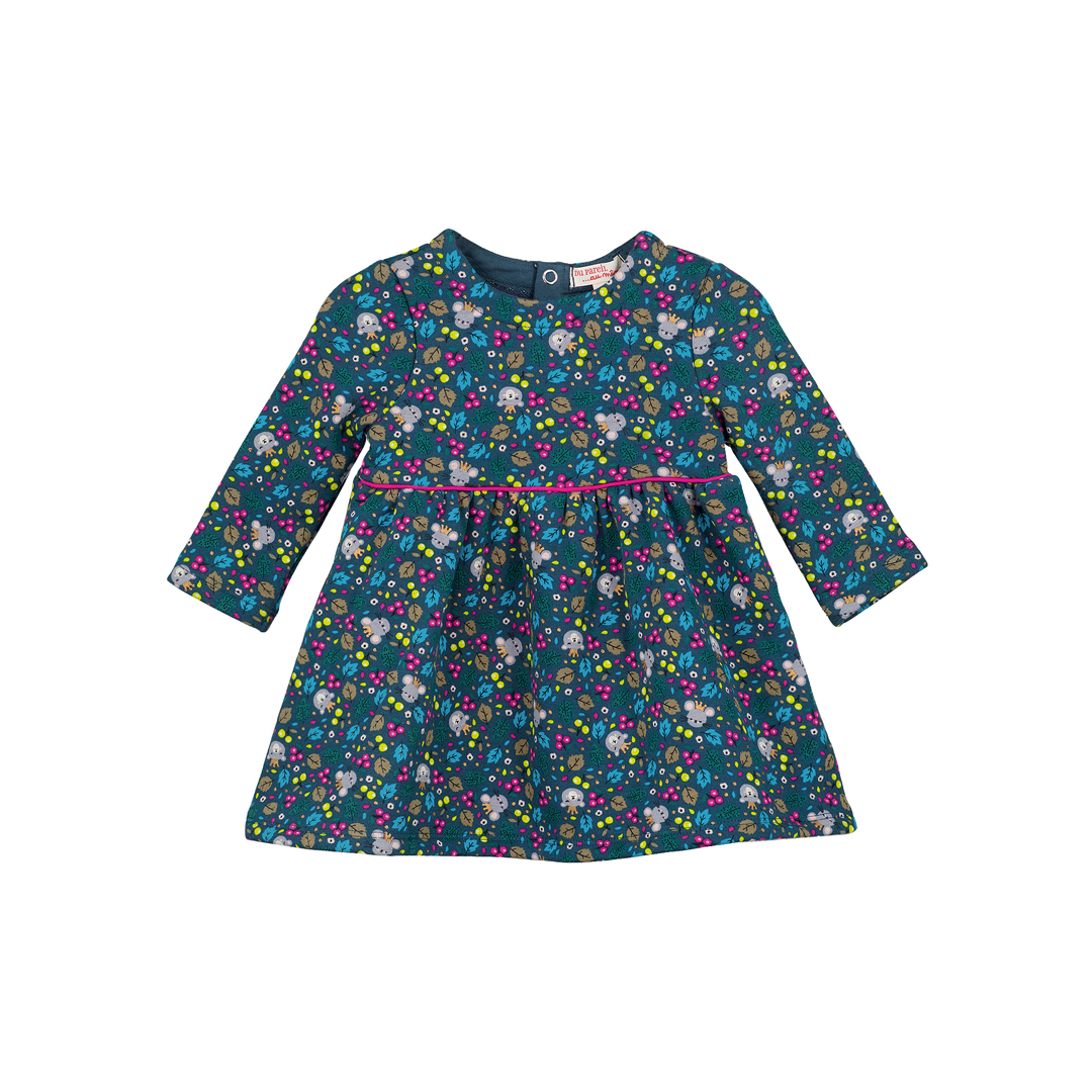 Giturob2 Baby Girls Printed Dress