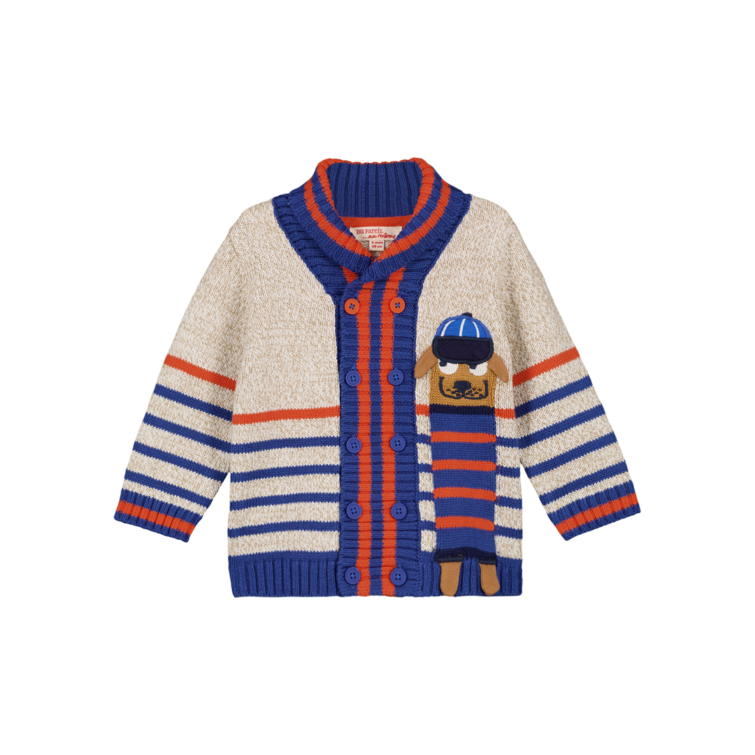 Gusangil1 Baby Boys Striped Cardigan