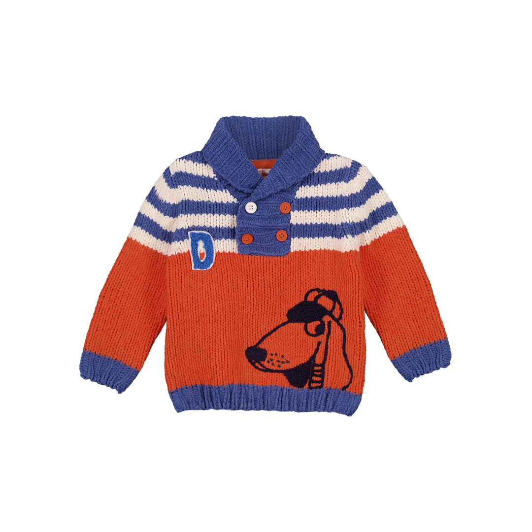 Gusanpul Baby Boys Knit Roll Neck jumper