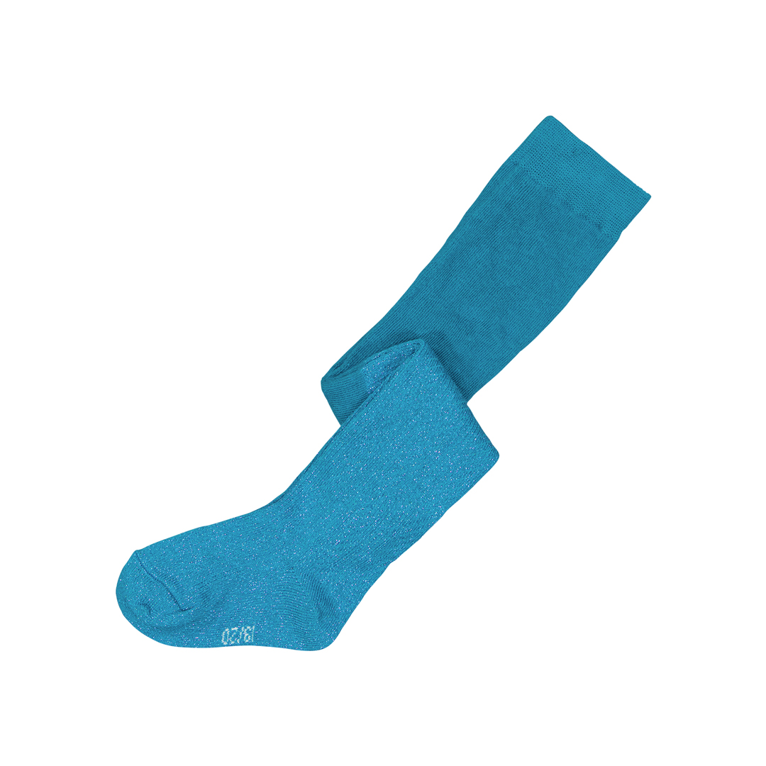 Gyimucol Baby Girl Petrol Blue Cotton Tights