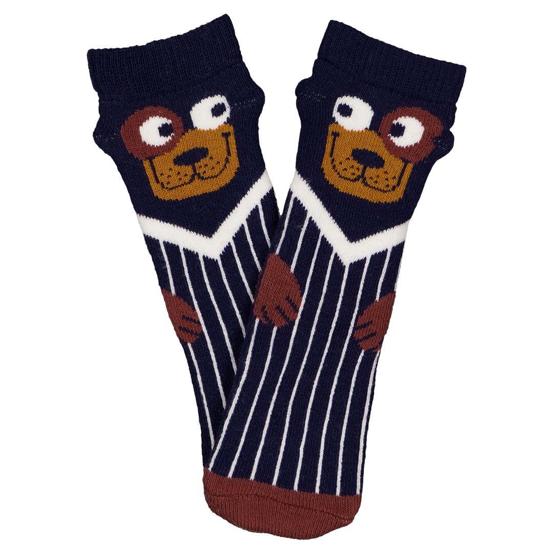 Gyusancho2 Baby Boys Printed Cotton Socks